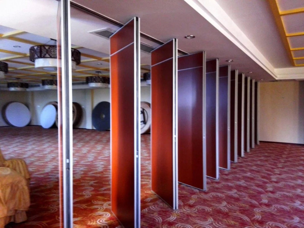 pl21119332 modern acoustic movable wall panels 800mm width sliding folding partition 1024x768 - Gallery
