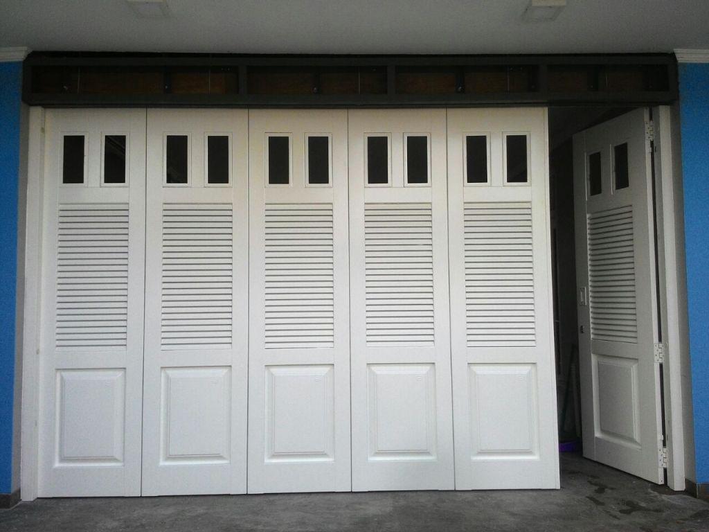 pintu garasi motif kaca - Produk